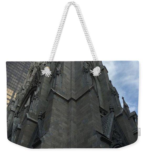 St. Patricks Cathedral Perspective Weekender Tote Bag