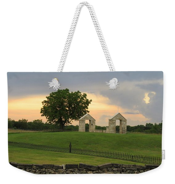 St. Patrick's Mission Church Memorial Weekender Tote Bag