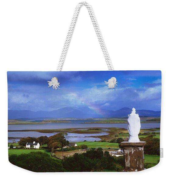 St Patricks Statue, Co Mayo, Ireland Weekender Tote Bag