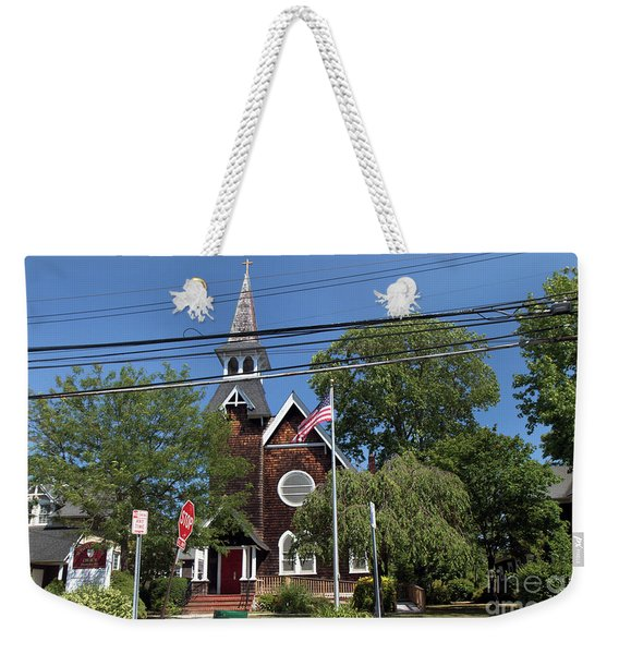 St Pauls Episcopal Church Patchogue Weekender Tote Bag