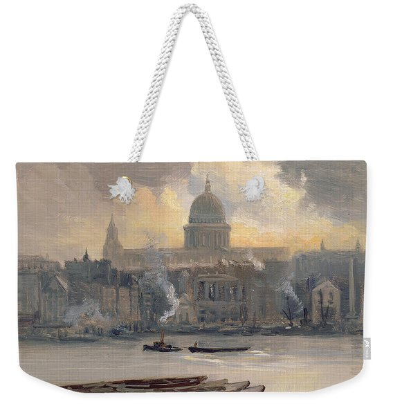 St Paul's From The River Weekender Tote Bag