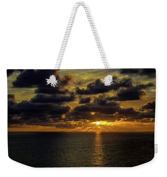 St. Pete Sunset Weekender Tote Bag