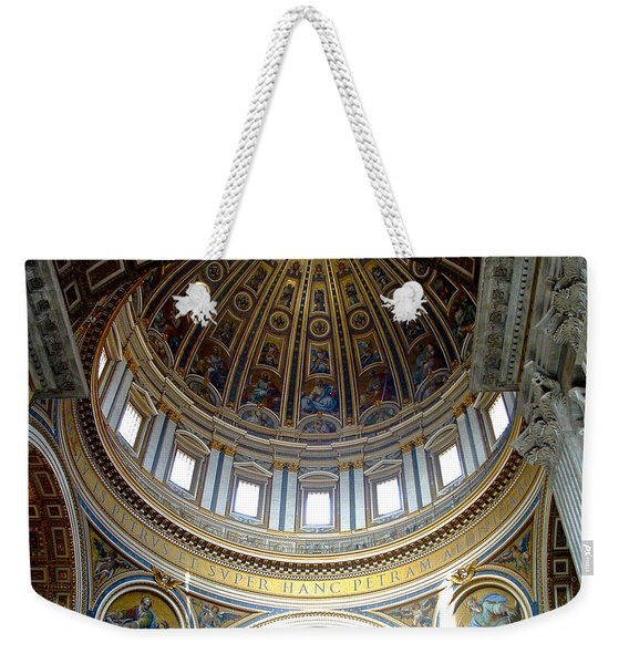 St. Peters Basilica Dome Weekender Tote Bag