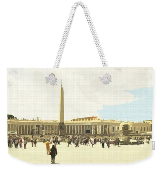 St. Peter's Square The Vatican Weekender Tote Bag