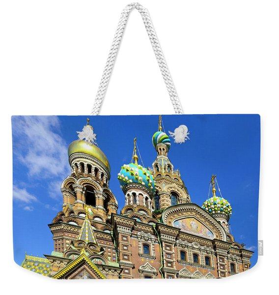 St. Petersburg Church Of The Spilt Blood Weekender Tote Bag
