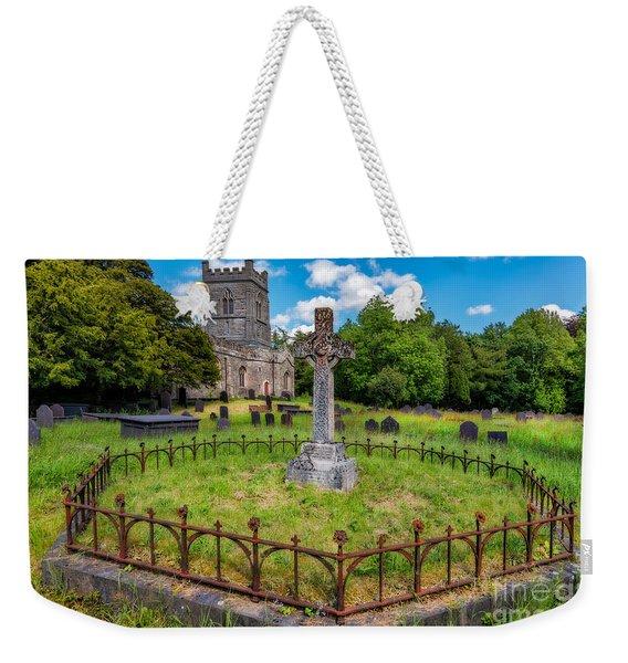 St Tegai Cross Weekender Tote Bag