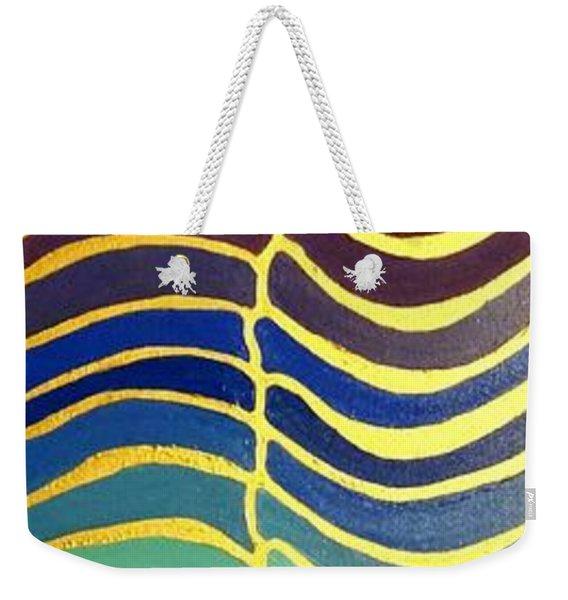 Stability Vertical Banner Weekender Tote Bag