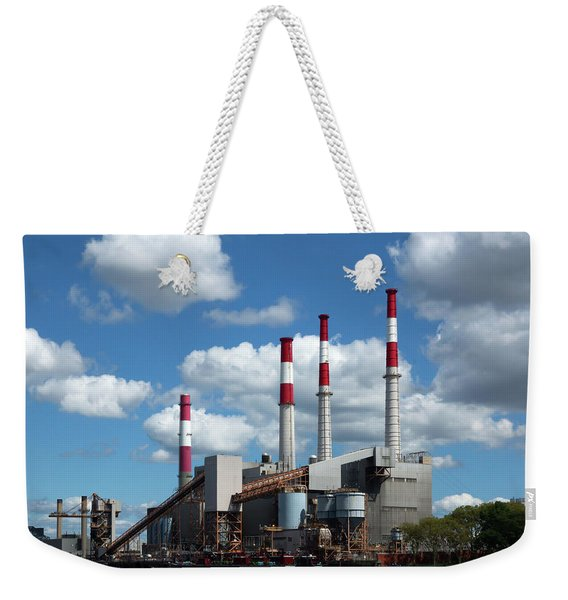 Stacks Among The Clouds Weekender Tote Bag