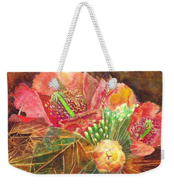 Staghorn In Bloom Weekender Tote Bag