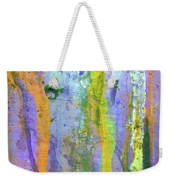 Stains Of Paint Weekender Tote Bag