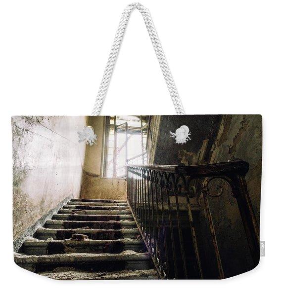 Stairs In Haunted House Weekender Tote Bag