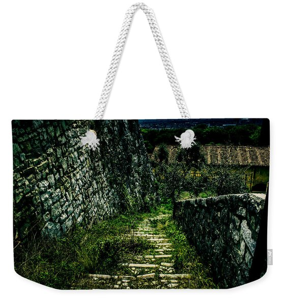 The Staircase In The Green Weekender Tote Bag