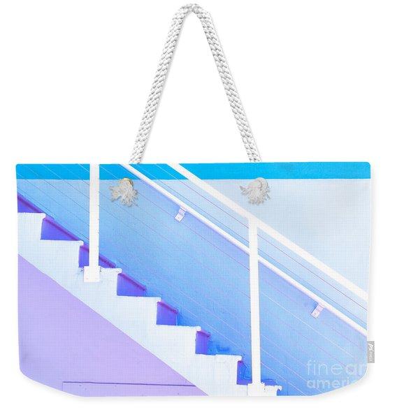 Stairway Weekender Tote Bag