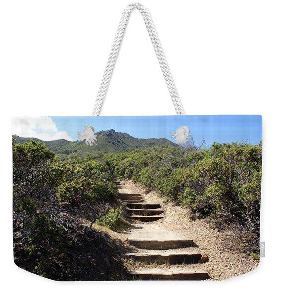 Stairway To Heaven On Mt Tamalpais Weekender Tote Bag