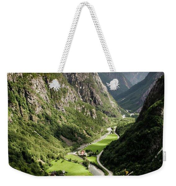 Stalheim Valley Weekender Tote Bag