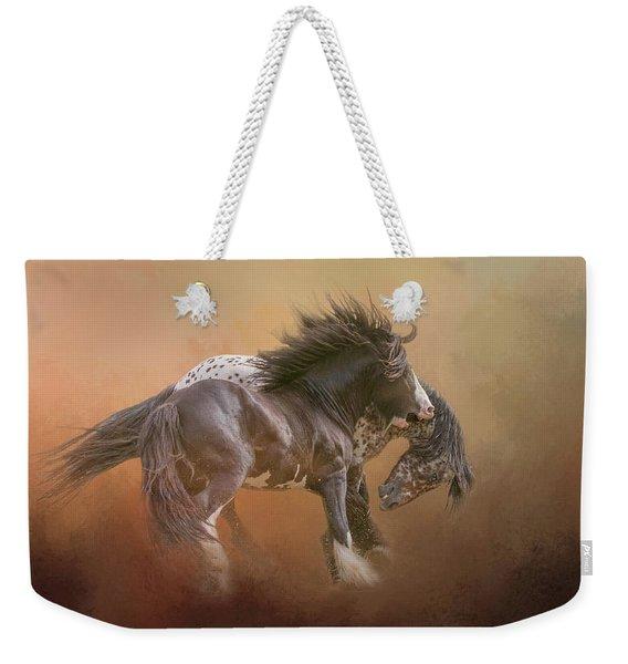 Stallion Play Weekender Tote Bag