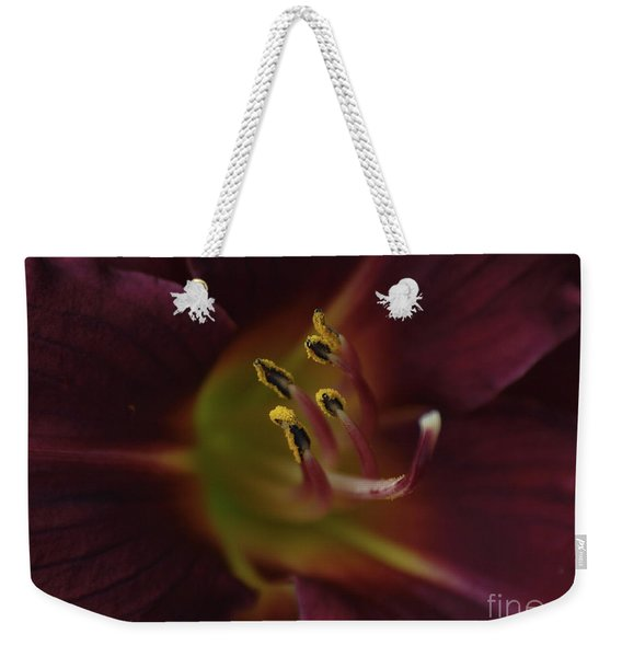 Stamen Of Day Lily Weekender Tote Bag