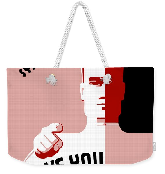 Stamp Out Syphilis And Gonorrhea Weekender Tote Bag