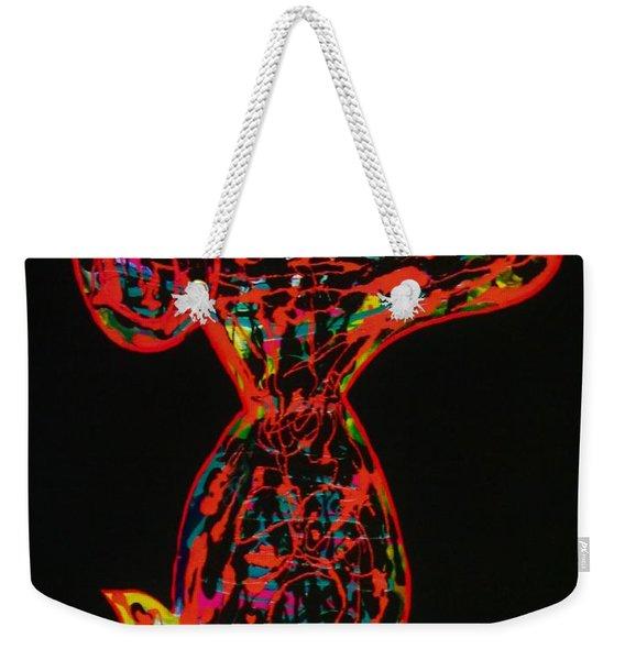 Stand Alone Weekender Tote Bag