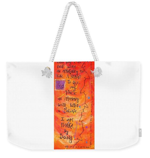 Stand Weekender Tote Bag