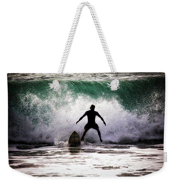 Standby Surfer Weekender Tote Bag