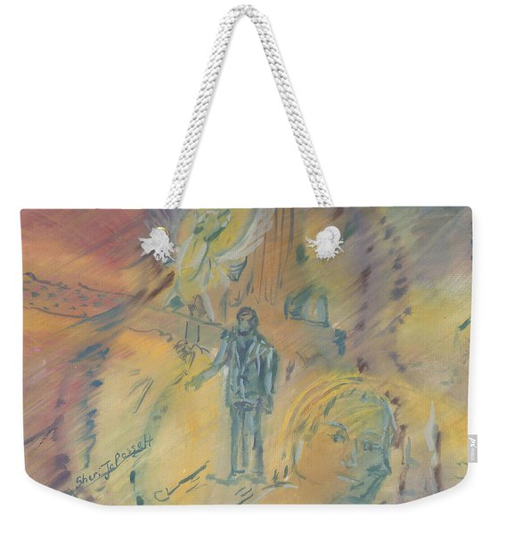 Standing At The Crossroads Weekender Tote Bag