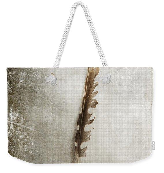 Standing Feather Weekender Tote Bag