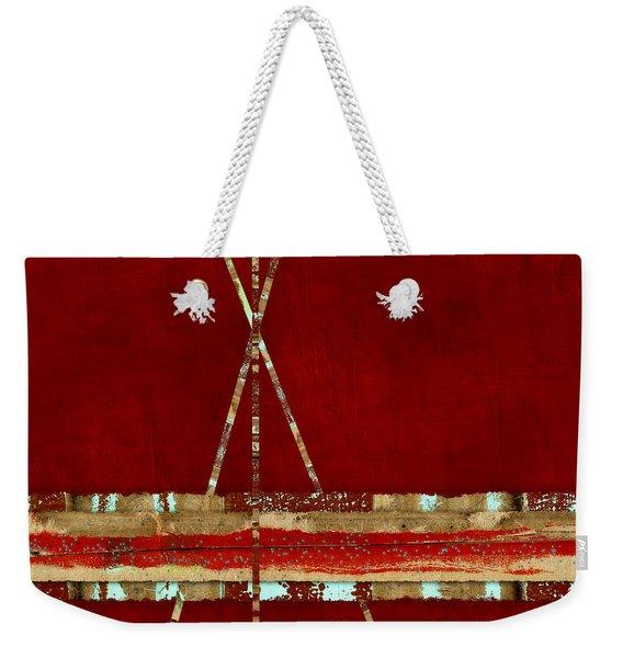 Standing Ground Square Format Weekender Tote Bag