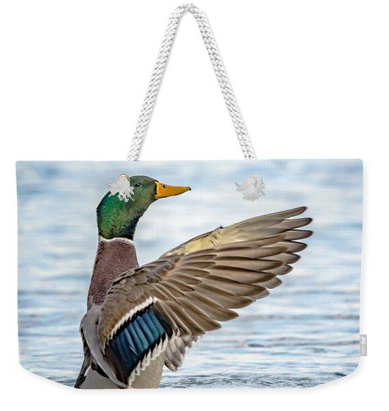 Standing Ovation Weekender Tote Bag