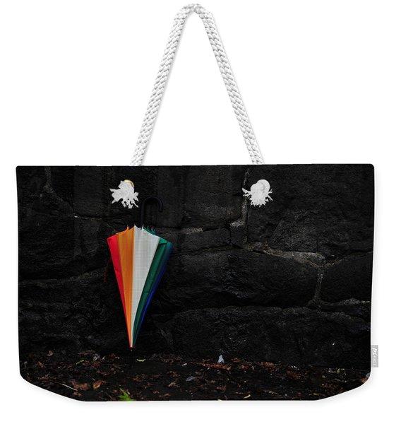 Standing Umbrella Weekender Tote Bag