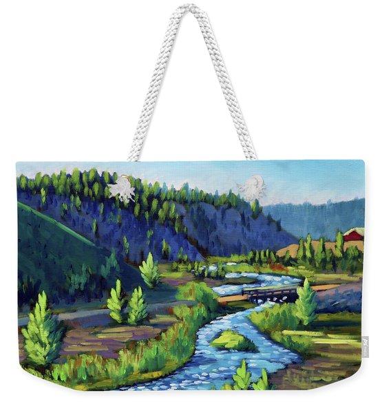 Stanley Creek Weekender Tote Bag