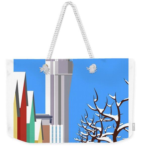 Stapleton Winter Weekender Tote Bag