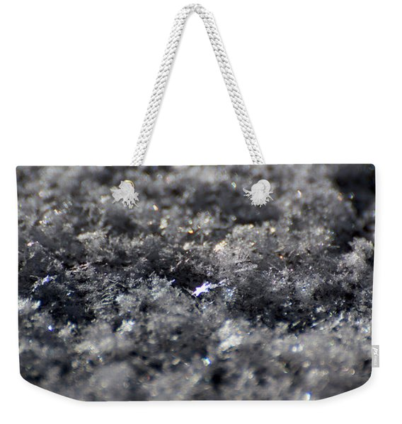 Weekender Tote Bag featuring the photograph Star Crystal by Jason Coward