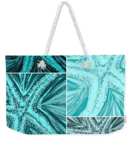 Starfish Pop Art Weekender Tote Bag