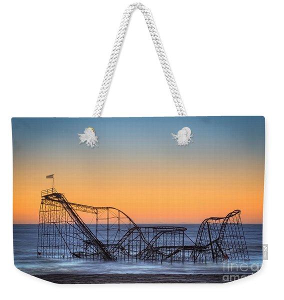 Star Jet Roller Coaster Ride  Weekender Tote Bag