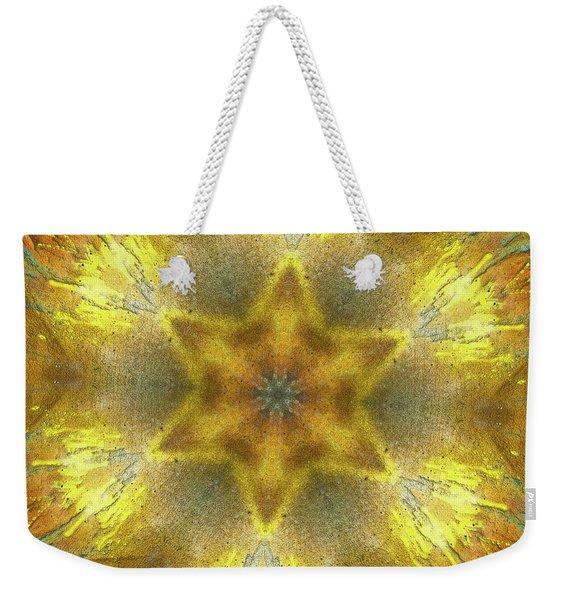 Star Kaleidoscope Weekender Tote Bag