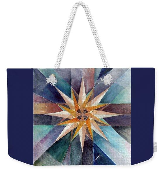Star Mandala 2  Weekender Tote Bag