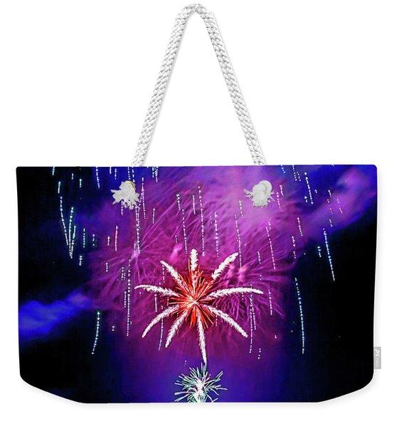 Star Of The Night Weekender Tote Bag