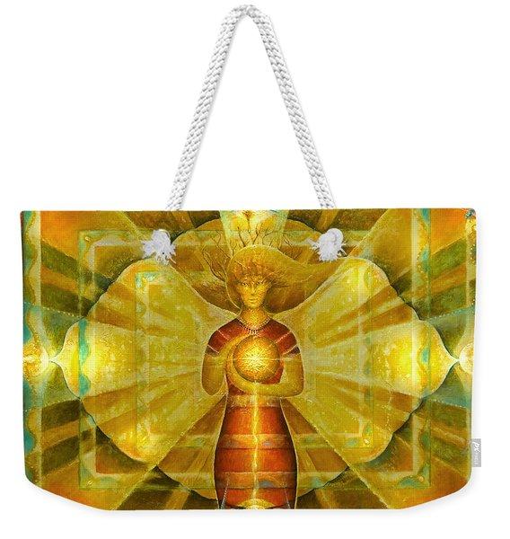 Star Of Venus Weekender Tote Bag