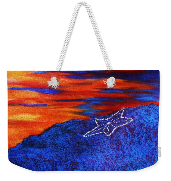 Star On The Mountain Weekender Tote Bag