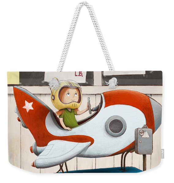 Star Seeker Weekender Tote Bag