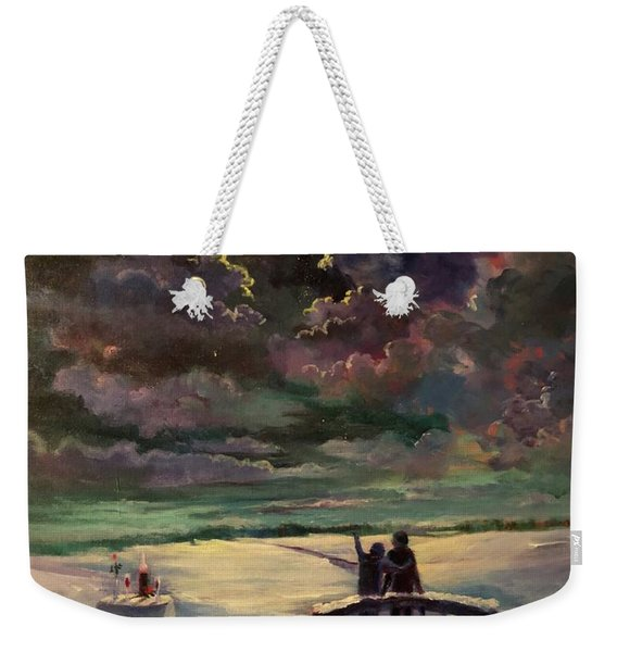 Star Shower Memories Weekender Tote Bag