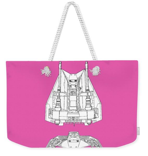 Star Wars - Snowspeeder Patent Weekender Tote Bag