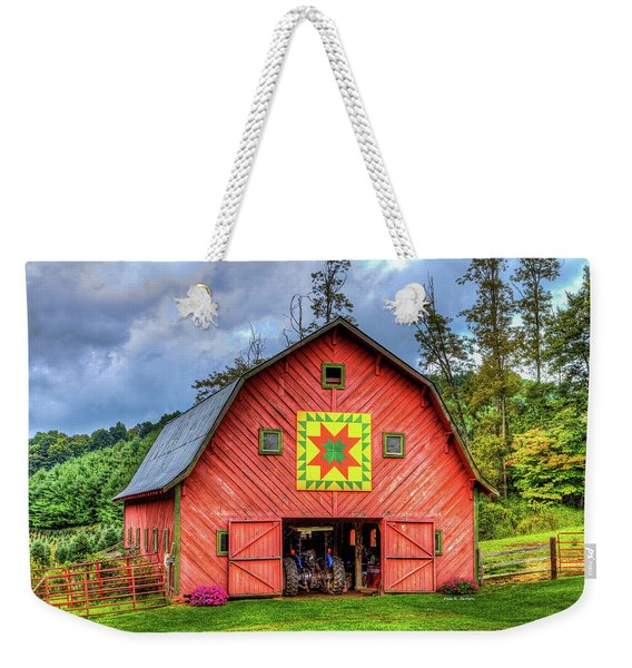 Star Within A Star Weekender Tote Bag