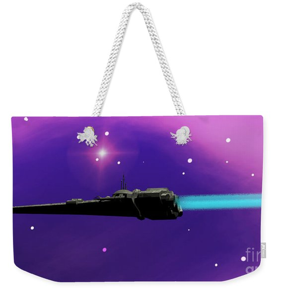 Starcruiser Weekender Tote Bag