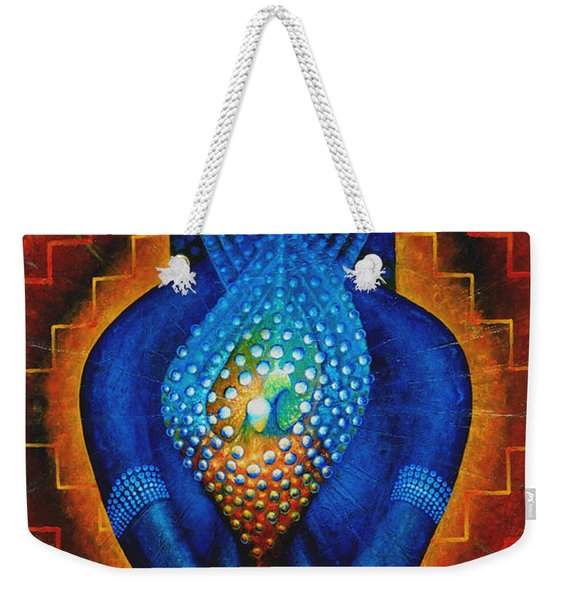 Starlight Temple Of The Dawn Weekender Tote Bag