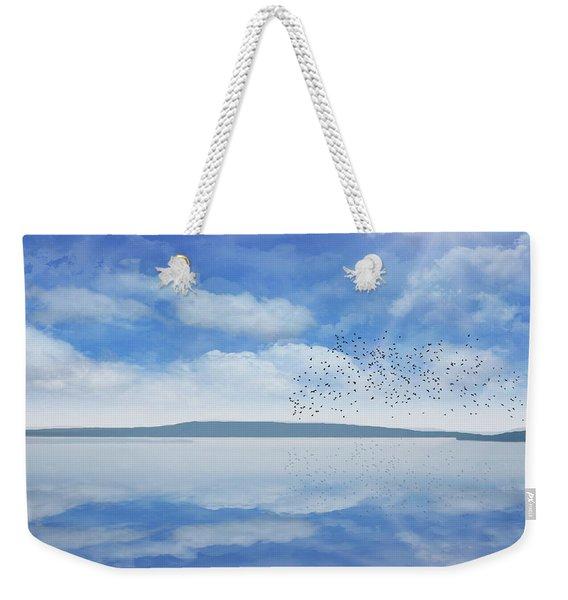 Starling Murmuration  Weekender Tote Bag