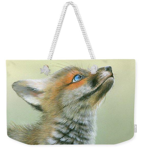Starry Eyes Weekender Tote Bag