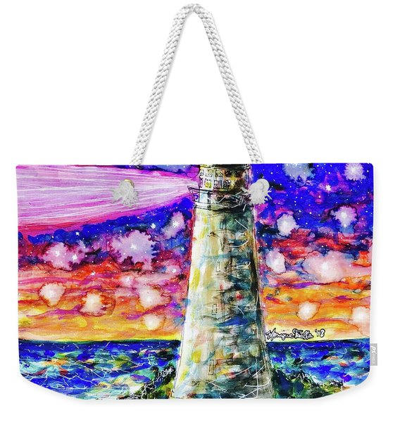 Starry Light Weekender Tote Bag
