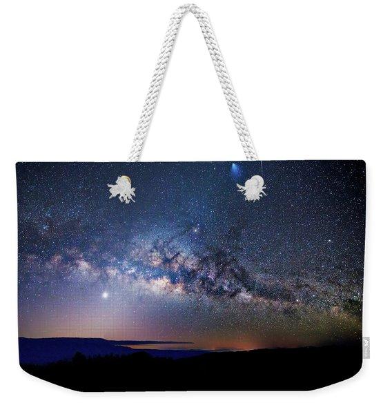 Starry Night Georgian Bay Weekender Tote Bag